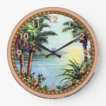 Isla del vintage relojes de pared