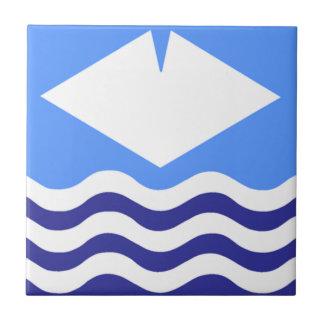 Isla del Wight Azulejo Cuadrado Pequeño