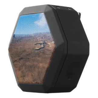 Isla en el parque nacional Utah de Canyonlands del Altavoces Bluetooth Negros Boombot REX