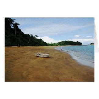 Isla Espiritu Santo, Islas las Perlas, Panama Card