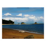 Isla Espiritu Santo, Islas las Perlas, Panama Poster