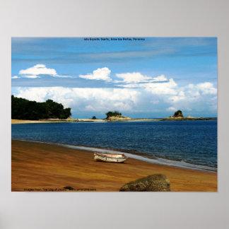Isla Espiritu Santo, las Perlas, Panamá de Islas Impresiones