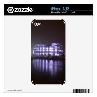 Isla flotante calcomanía para iPhone 4