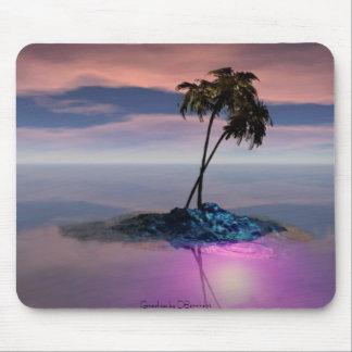 Isla, gráficos por DBarnhart Alfombrilla De Ratones