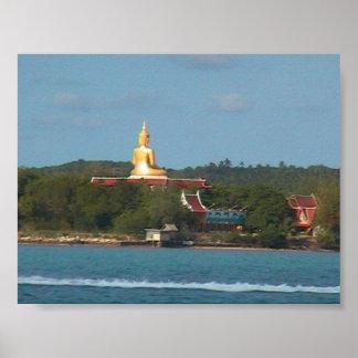 Isla grande de Buda, Tailandia Posters