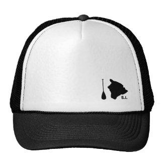 Isla grande de la paleta gorras