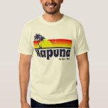 Isla grande Hawaii de Hapuna del vintage Poleras