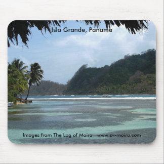 Isla Grande, Panama Mouse Pad