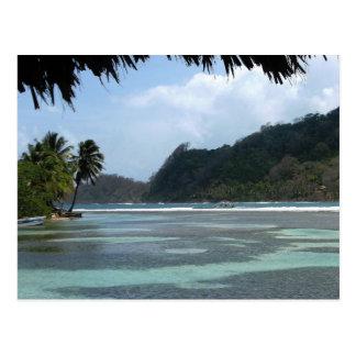 Isla Grande, Panama Postcard