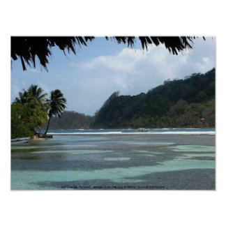 Isla Grande, Panama Poster