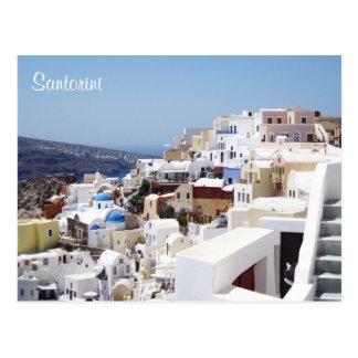 Isla Grecia de Santorini Tarjeta Postal
