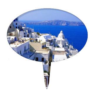 Isla Grecia Decoraciones Para Tartas