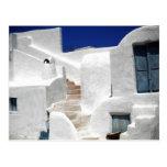 Isla Grecia del maison de Thirasia sobre Santorini Postales