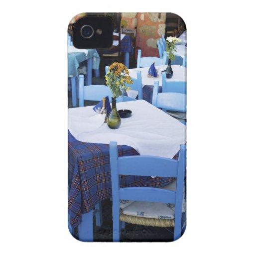Isla griega de Creta y de la ciudad vieja de Case-Mate iPhone 4 Funda