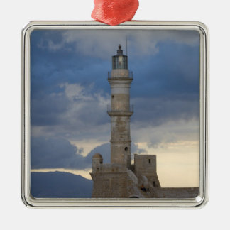 Isla griega de Creta y de la ciudad vieja de Chani Ornato
