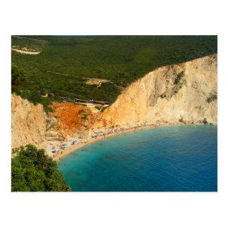 Isla griega tarjetas postales