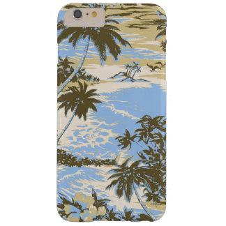 Isla hawaiana de la bahía de Napili escénica Funda De iPhone 6 Plus Barely There