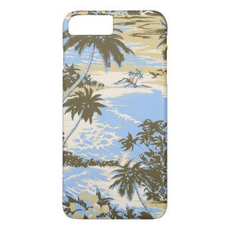Isla hawaiana de la bahía de Napili escénica Funda iPhone 7 Plus