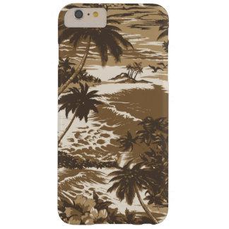 Isla hawaiana de la bahía de Napili escénica Funda Para iPhone 6 Plus Barely There