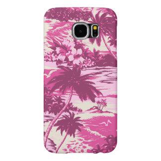 Isla hawaiana de la bahía de Napili escénica Fundas Samsung Galaxy S6