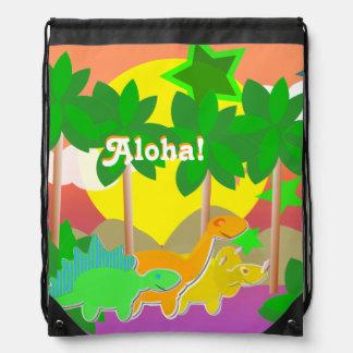 """Isla """"hawaiana del día de fiesta de los amigos de mochilas"""