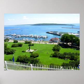 Isla histórica de Mackinac Impresiones