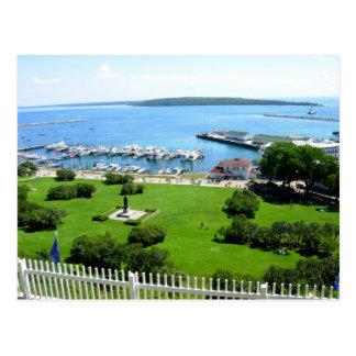 Isla histórica de Mackinac Tarjetas Postales