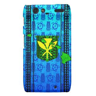Isla Kanaka tribal Maoli Motorola Droid RAZR Fundas
