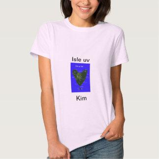 Isla Kim ultravioleta Playeras