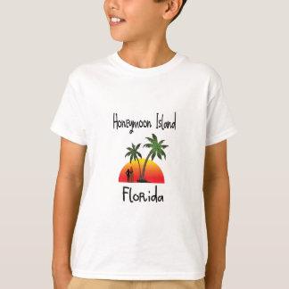 Isla la Florida de la luna de miel Camisas