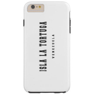 Isla La Tortuga Venezuela Tough iPhone 6 Plus Case