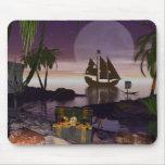Isla Mousepad del pirata Alfombrilla De Raton