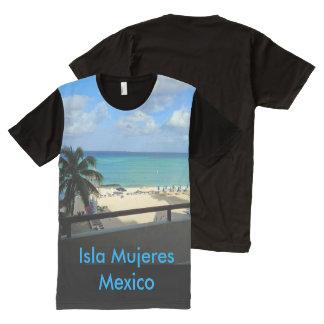 Isla Mujeres, Mexico Panel T-shirt