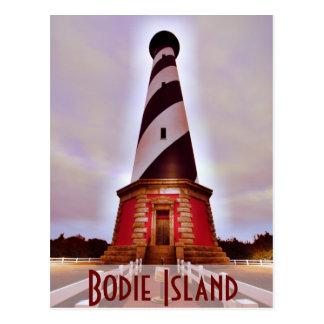 Isla NC de Bodie Tarjeta Postal