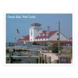 Isla NC de Ocracoke de la estación de guardacostas Tarjeta Postal