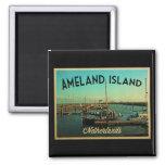 Isla Países Bajos de Ameland Imán