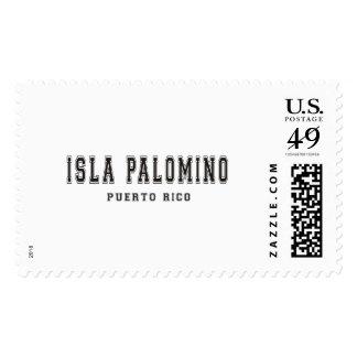 Isla Palomino Puerto Rico Postage