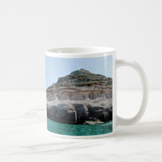 Isla Partida Sculpted Sandstone Baja California Su Coffee Mug