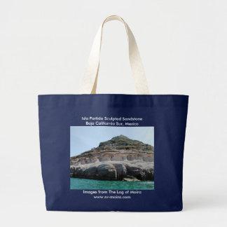 Isla Partida Sculpted Sandstone Baja California Su Large Tote Bag