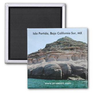 Isla Partida Sculpted Sandstone Baja California Su Magnet