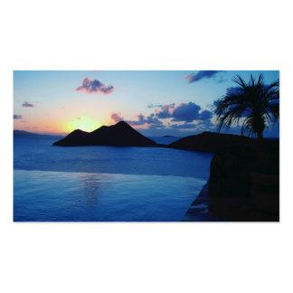 Isla privada de BVI Tarjeta Personal