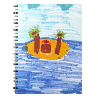 Isla privada cuaderno