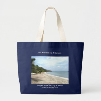 Isla Providencia, Colombia Large Tote Bag