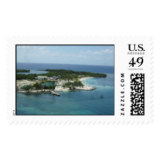 Isla Roatan, Honduras Postage Stamp