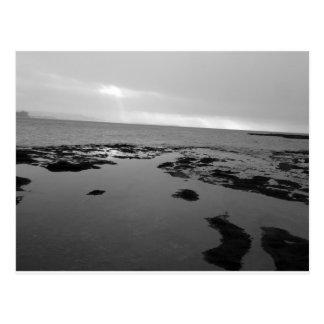 Isla Rockpools de marea de la cabra Postales
