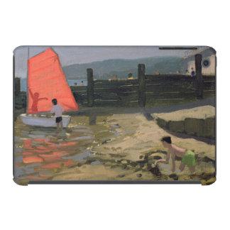 Isla roja de la vela del Wight Funda Para iPad Mini Retina