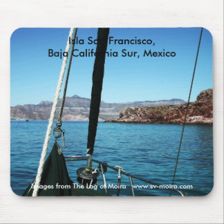 Isla San Francisco,  Baja California Sur, Mexico Mouse Pad