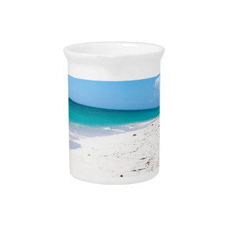 Isla Saona beach in the Caribbean Beverage Pitcher