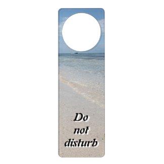Isla Saona - Caribbean Beach Door Hanger