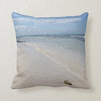 Isla Saona - Caribbean Beach Throw Pillows